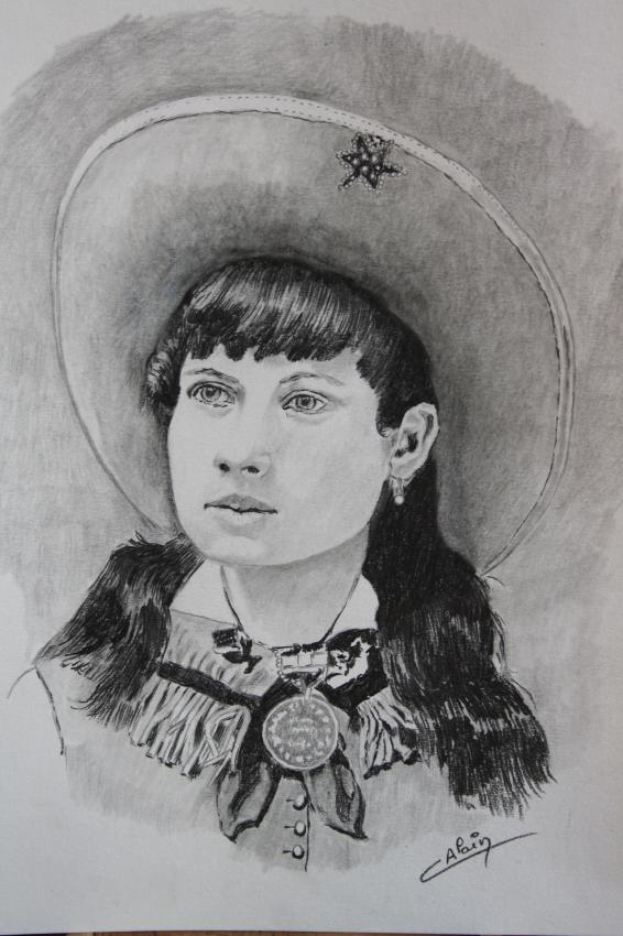 Annie Oakley by lharmonica1